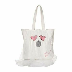 Betsey Johnson Floating Ghost Tote Bag